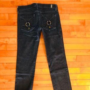 Awesome Seven 7 for mankind slim flap pocket jeans